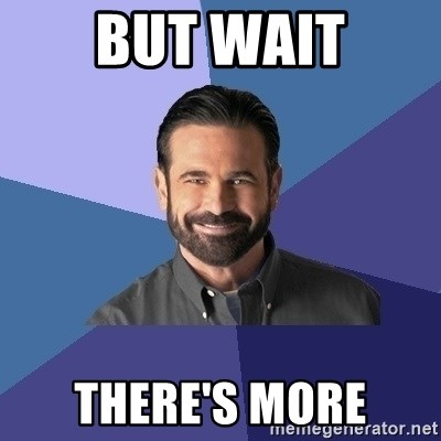 Billy Mays - BUT WAIT THERE's MORE