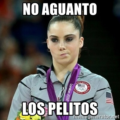 Not Impressed McKayla - nO AGUANTO LOS PELITOS