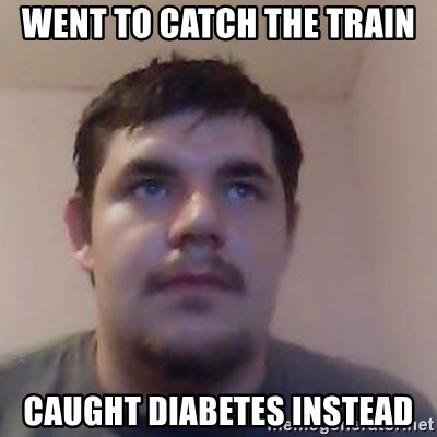 Ash the brit - went to catch the train caught diabetes instead