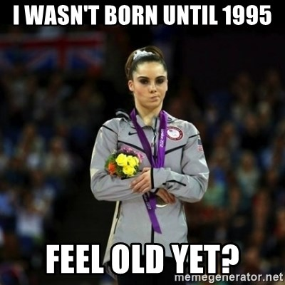 Unimpressed McKayla Maroney - i wasn't born until 1995 feel old yet?