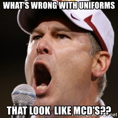 Pauw Whoads - What's wrong with uniforms that look  like McD's??