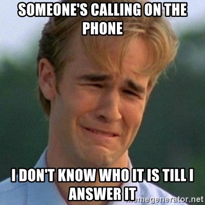 90s Problems - Someone's calling on the phone i don't know who it is till i answer it