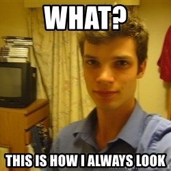 Dark Lord tl;dr - What? This is how I always look