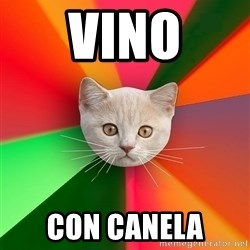 Advice Cat - VINO con canelA
