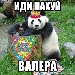 Happy Birthday Panda - ИДИ НАХУЙ  вАЛЕРА