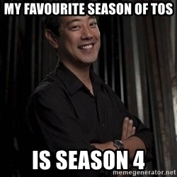 Most Interesting Geek In The World - My favourite season of tos is season 4