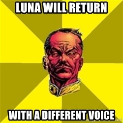 Fear Sinestro - luna will return with a different voice
