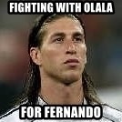 Sergio Ramos 4  - fighting with olala for fernando