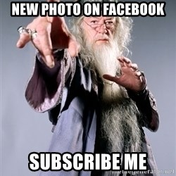 Bitchin Dumbledore - new photo on facebook subscribe me