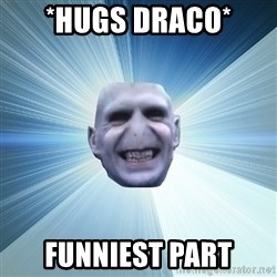 Awkward Wizard - *hugs Draco* funniest part