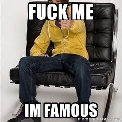 Justin Bieber Pointing - FUCK ME IM FAMOUS
