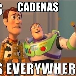 Xx Everywhere - Cadenas