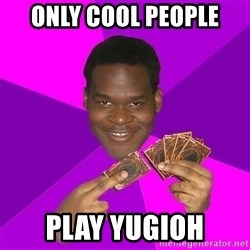 Cunning Black Strategist - ONLY COOL PEOPLE PLAY YUGIOH