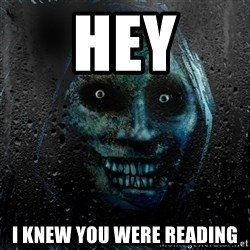 NEVER ALONE  - Hey i knew you were reading