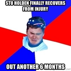 US Soccer Fan Problems - Stu Holden finally recovers from injury Out another 6 months