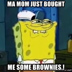 Spongebob Thread - ma mom just bought me some brownies.!