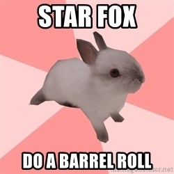 Roleplay Shipper Bunny - STAR FOX DO A BARREL ROLL