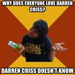 Darren Criss Doesnt Know - Why does everyone love darren criss? darren criss doesn't know
