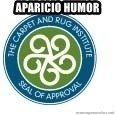 Seal Of Approval - APARICIO HUMOR