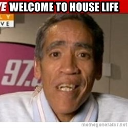 Radio Voice Guy - Welcome to house life