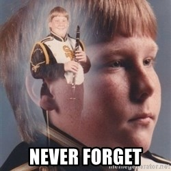 PTSD Clarinet Boy - never forget