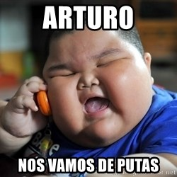 Fat Asian Kid - arturo nos vamos de putas