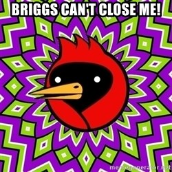 Omsk Crow - Briggs can't close me!