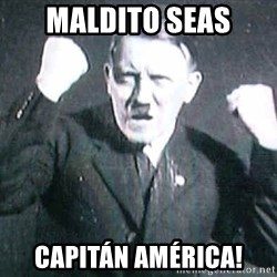 Successful Hitler - maldito seas capitán américa!