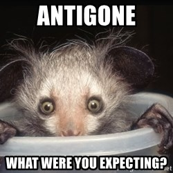 Fyeahtheatreayeaye - Antigone What were you expecting?