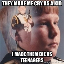 PTSD Clarinet Boy - they made me cry as a kid i made them die as teenagers