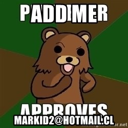Pedobear Sees Potential - add me MARKID2@HOTMAIL.CL