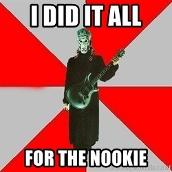 Nu-Metal Guitarist  - I did it all for the nookie