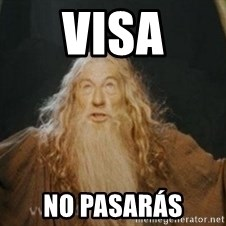 Gandalf - VISA no pasarÁS