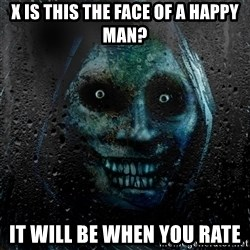 NEVER ALONE  - X is this the face of a happy man? it will be when you rate