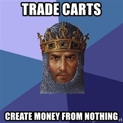 Age Of Empires - Trade Carts Create money from nothing