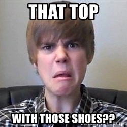 Justin Bieber 213 - That top With those shoes??