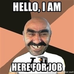 Provincial man2 - HELLO, I AM  HERE FOR JOB