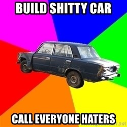 AdviceCar - build shitty car call everyone haters