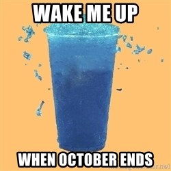 Gleek - wake me up when october ends