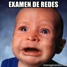 Very Sad Kid - examen de redes