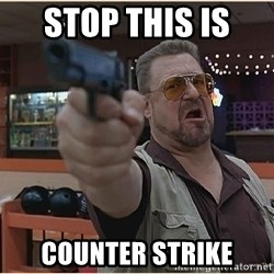 WalterGun - STOP THIS IS  COUNTER STRIKE