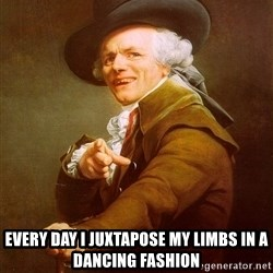 Joseph Ducreux - Every Day I juxtapose my limbs in a dancing fashion