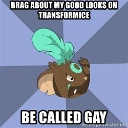 Transformice meme shaman  - BRAG ABOUT MY GOOD LOOKS ON TRANSFORMICE be called gay