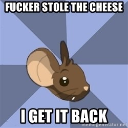 Transformice meme mouse - fucker stole the cheese i get it back
