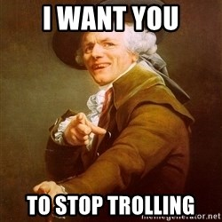 Joseph Ducreux - I WANT YOU TO STOP TROLLING
