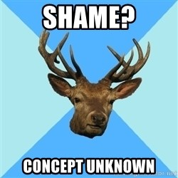 Smut Player Stag - shame? concept unknown