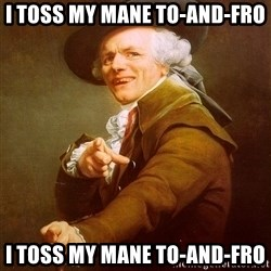 Joseph Ducreux - I toss my mane to-and-fro I toss my mane to-and-fro