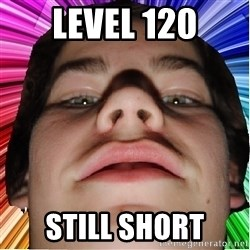 Nordlingsyndrome - level 120 still short