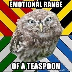JEALOUS POTTEROMAN - Emotional range of a teaspoon