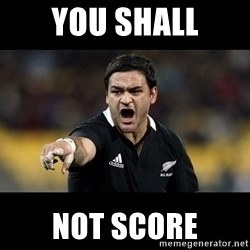 Intense Piri Weepu - YOU SHALL NOT SCORE
